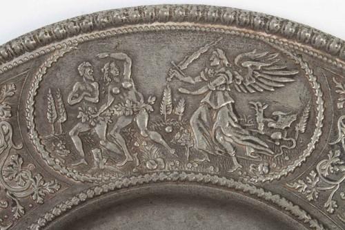 Religious Antiques  - Paten Decorated in Relief, Nüremberg 17th century