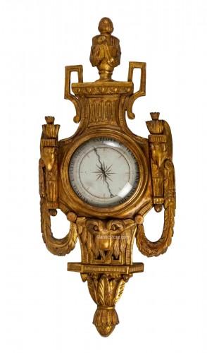 A Louis XVI period barometer