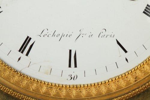 "19th century - French Empire mantel clock ""The Broken Jug"""