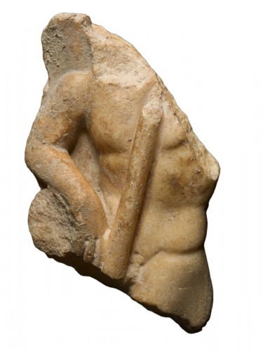 Relief of male torso, 2nd/3rd Century A.D.