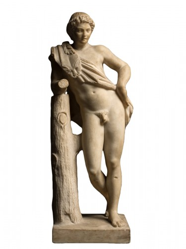 Resting Satyr after Praxiteles