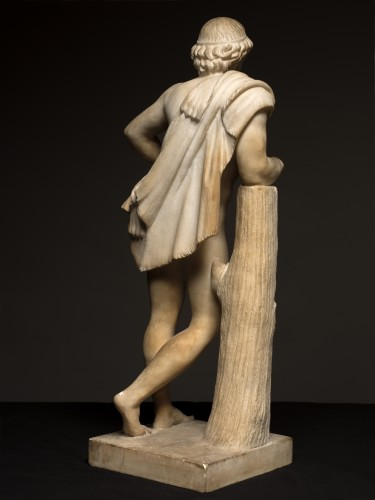 Resting Satyr after Praxiteles - Sculpture Style
