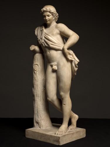 Sculpture  - Resting Satyr after Praxiteles