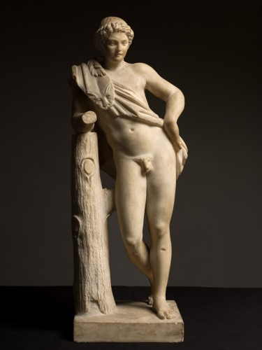 Resting Satyr after Praxiteles -