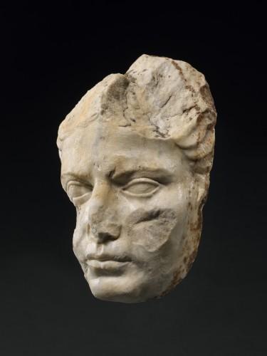 Portrait of a woman, late Augustan/Tiberian, circa 1-37 A.D. - Ancient Art Style