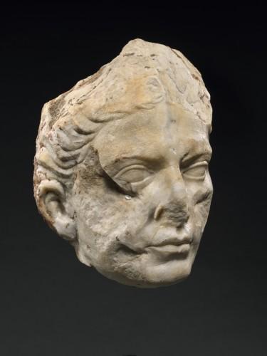 Ancient Art  - Portrait of a woman, late Augustan/Tiberian, circa 1-37 A.D.