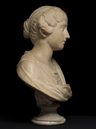 Faustina the Younger, 18th century - Sculpture Style
