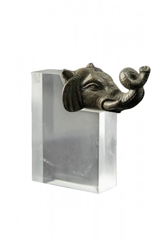 Head of an elephant, 2nd Century A.D.
