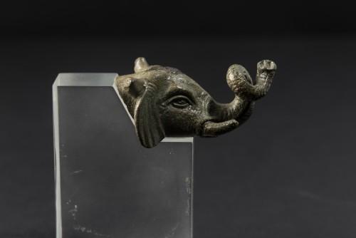 Ancient Art  - Head of an elephant, 2nd Century A.D.