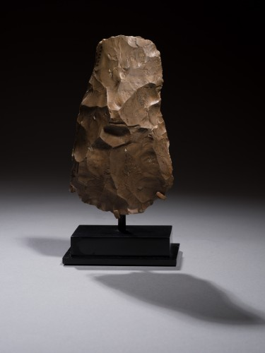 Knapped flint axe, Late Neolithic to Pre-Dynastic Period, 6000 - 3500 B.C. - Ancient Art Style