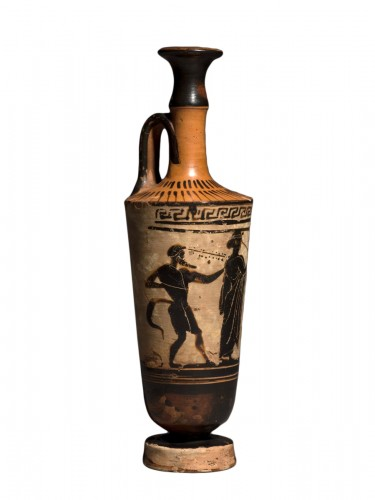 Attic Lekythos of 'Chimney' Type, circa 500-460 B.C