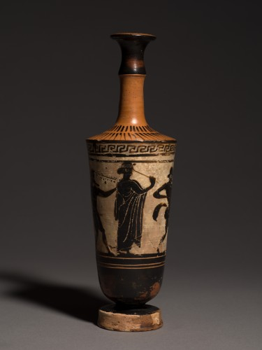 Attic Lekythos of 'Chimney' Type, circa 500-460 B.C - Ancient Art Style