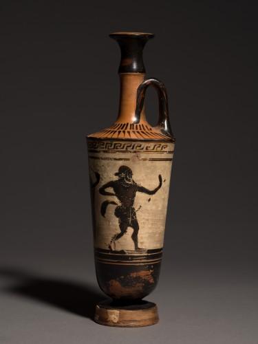 Ancient Art  - Attic Lekythos of 'Chimney' Type, circa 500-460 B.C