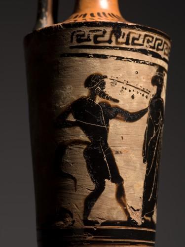 Attic Lekythos of 'Chimney' Type, circa 500-460 B.C -