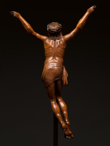 Sculpture  - German boxwood figure of Cristo Vivo