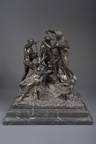 Sculpture  - Farnese Bull by Chiurazzi Foundry, Naples, 1877