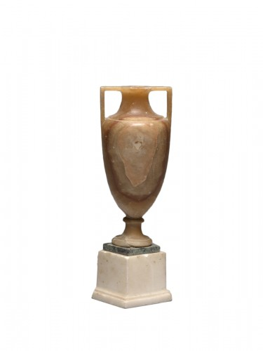 Alabaster vase after the antique, Italy, 19th Century