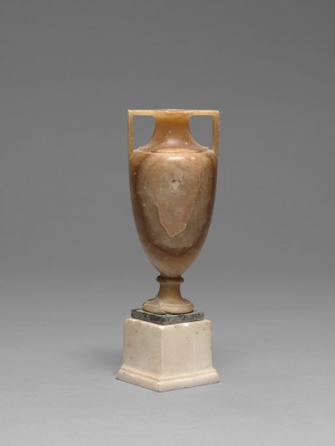 Decorative Objects  - Alabaster vase after the antique, Italy, 19th Century