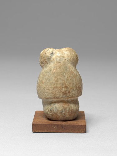 Alabaster figure of thoth, Egypt, Late Dynasty, 664-332 B.C. - Ancient Art Style