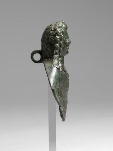 Ancient Art  - Gallo-roman applique bust, Roman Empire, 3rd/4th Century A.D.