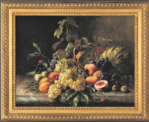 Still Life with Butterfly - Léon Louis Aristide Constans (1815-1871) -