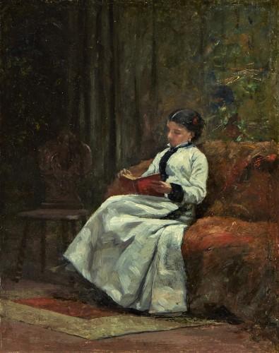 The Reader - François Bonvin (1817 – 1887)