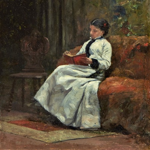 The Reader - François Bonvin (1817 – 1887) - Paintings & Drawings Style