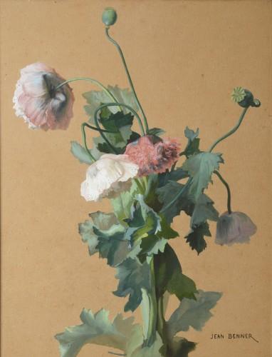 Poppies - Jean Benner  (1836-1909)