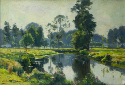 The Zenne near Beersel  - Louis Clesse (1889-1961)