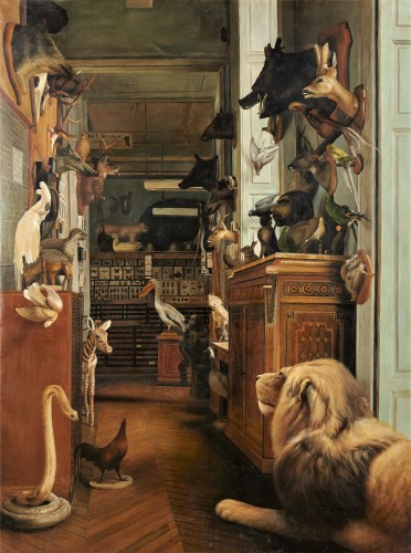 The workshop of a Taxidermist - J. Convey