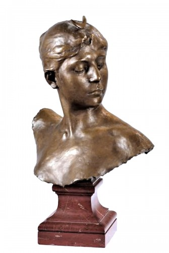 Bust of Diana - Alexandre Falguière (1831 - 1900)