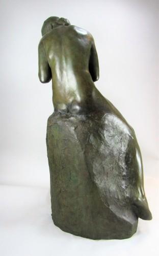 Maternity - Pierre de Soete (1885-1948) - Sculpture Style