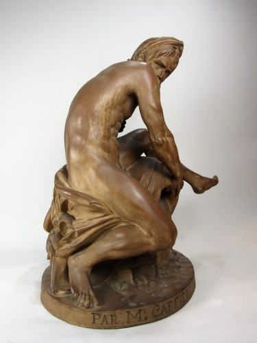 The River by Jean-Jacques Caffieri (1725-1792) - Sculpture Style