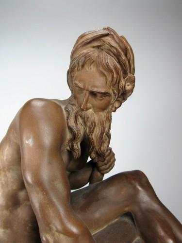 Sculpture  - The River by Jean-Jacques Caffieri (1725-1792)