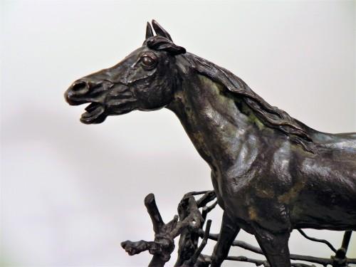 Djinn - Pierre-jules Mène (1810-1879) - Sculpture Style Napoléon III