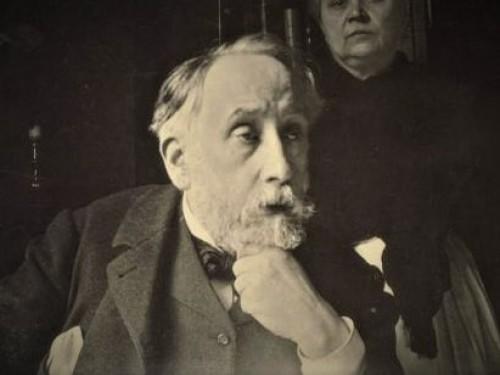 Horse walking at a high pace: After Edgar Degas (1834 – 1917) -