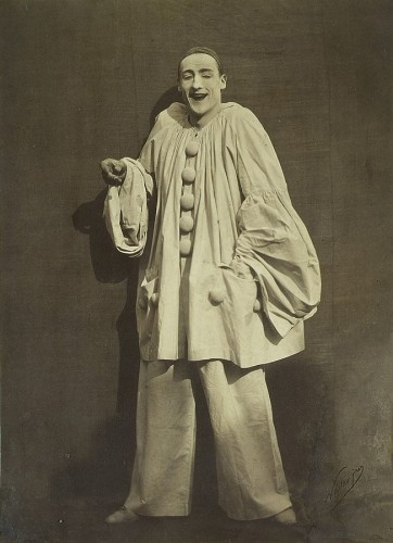 20th century - Pierrot / Mime Deburau André César Vermaere (1869-1949)