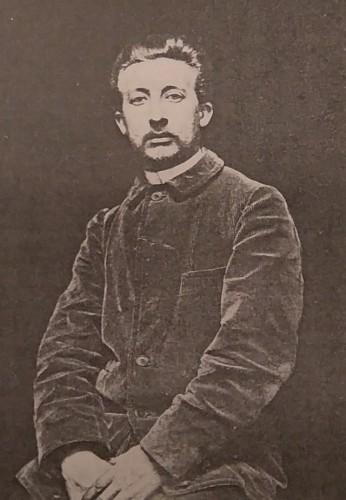 Art Déco - Pierrot / Mime Deburau André César Vermaere (1869-1949)