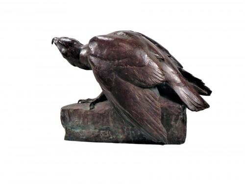 Eagle on a rock (1925) - Maximilien Fiot (1886-1953)