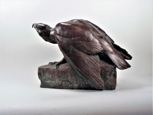 Eagle on a rock (1925) - Maximilien Fiot (1886-1953) -