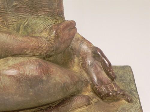 Sitting Baboon - Akop Gurdjan (1881-1948) -