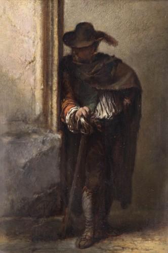 The Vagabond Spy  -  Duwez Henri-Joseph (1810-1884)