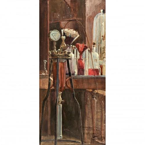 Le Laboratoire, 1891 -  Olivié-Bon Léon (1863-1901)