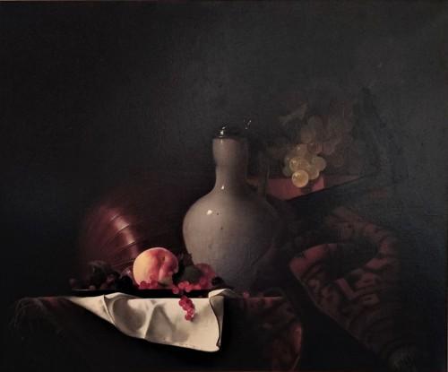 Jean GRIMAL (1942-1998) -  Still Life - Paintings & Drawings Style