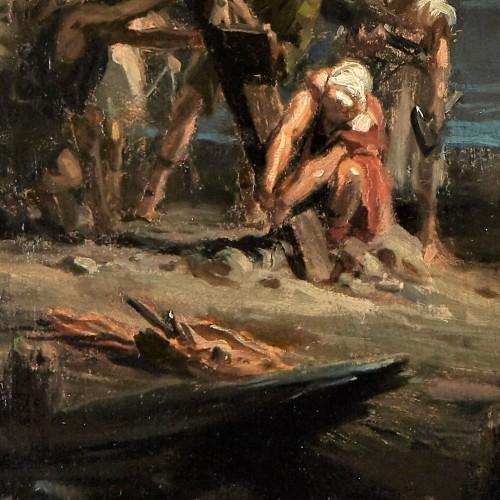 Paintings & Drawings  - Calvario (Calvary)  - Julio Borrell (1877 – 1957)