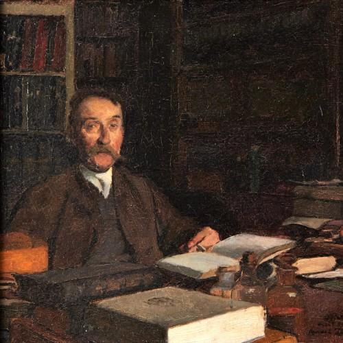 Le docteur Pignol - Devambez André (1867-1943) - Paintings & Drawings Style