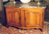 18thc Louis XV hunter buffet (dresser)