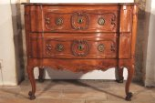 "A late18thc Louis XV ""sauteuse"" commode from marseille"