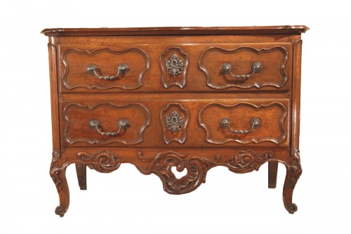 "18thC Rocaille ""sauteuse"" Commode from Nîmes"