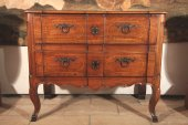 "Early 18th C ""sauteuse"" Commode from Provence (Aix)."